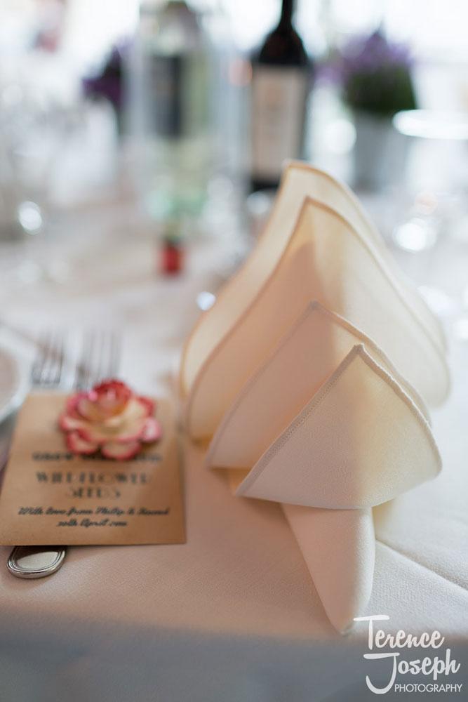 Charlton Mitre Hotel wedding breakfast