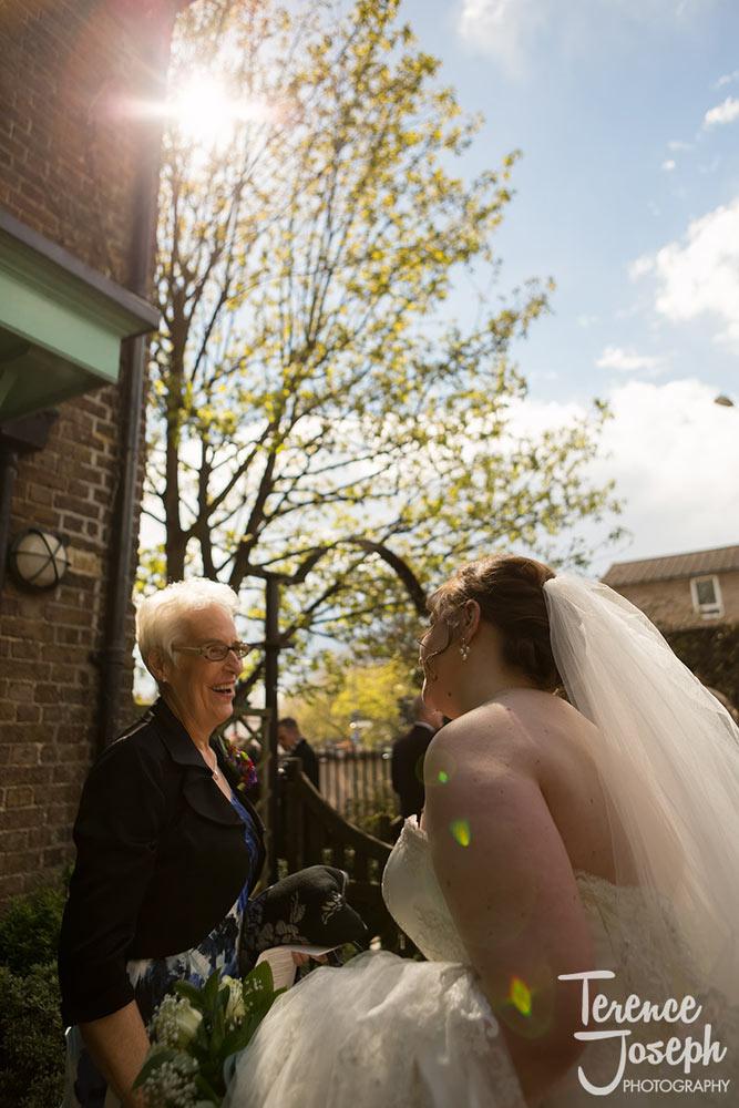 Lovekyn Chapel in Kingston small Summer wedding