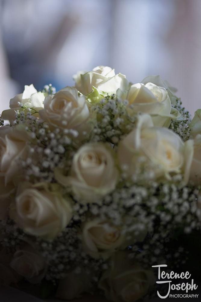 Wedding bouquet at Charlton Mitre Hotel in Hampton Court
