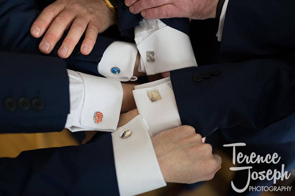 Groomsmen wedding cufflings