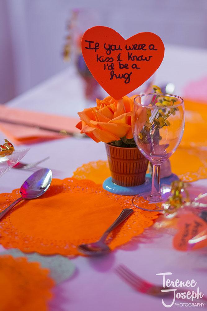 Wedding preparations at Keston Village Hall