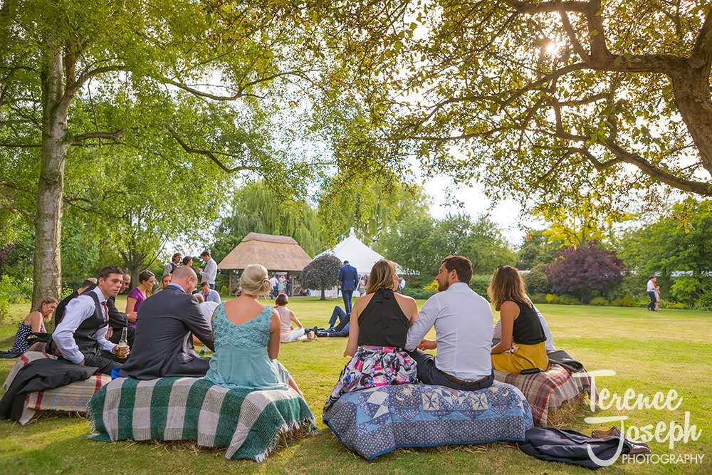 Summer Rectory Farm Wedding Cambridge