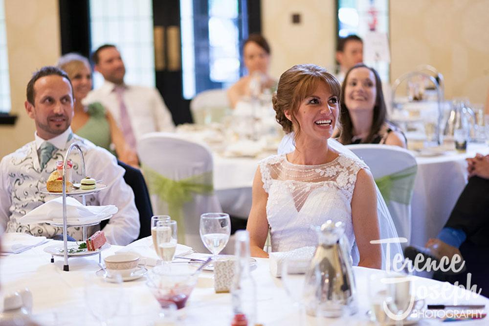 Bride Groom Sitting