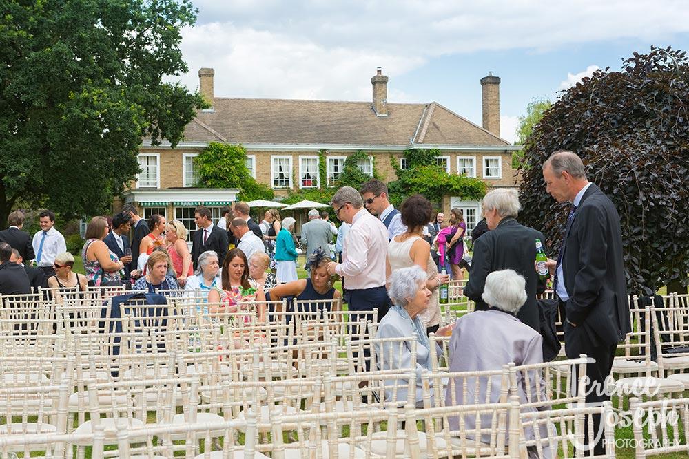 Summer Outdoor Ceremony Rectory Farm Wedding Cambridge