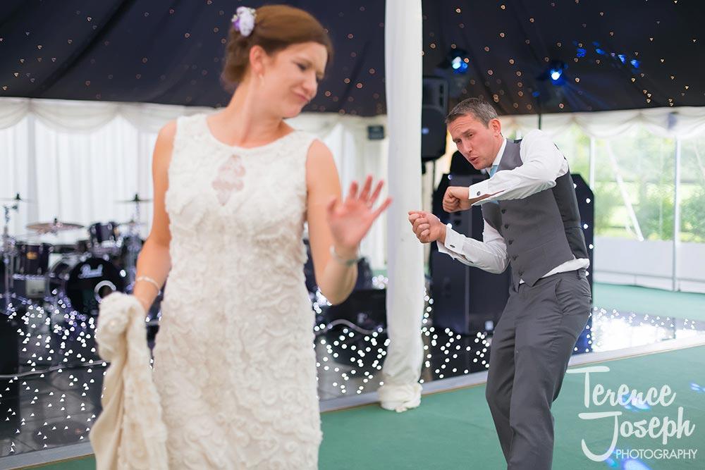 Hilary & Oscar dancing