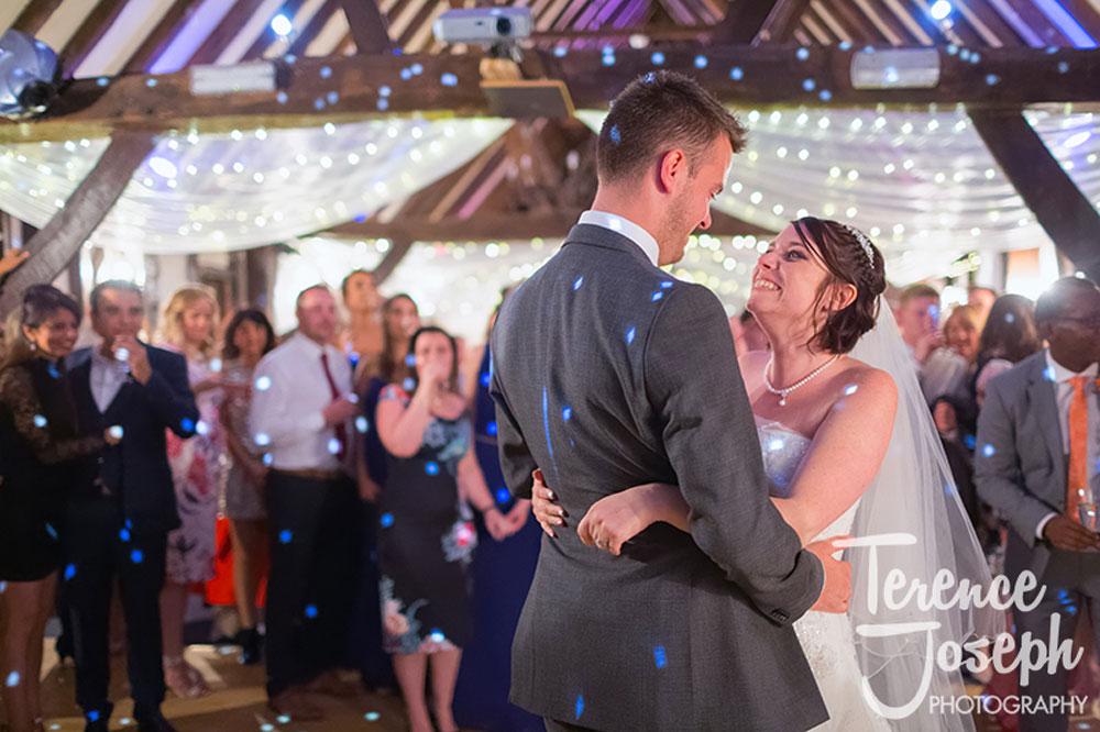 Hannah & Ben dancing