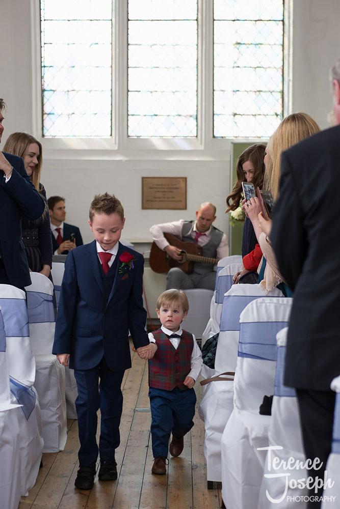 Lovekyn Chapel in Kingston small wedding