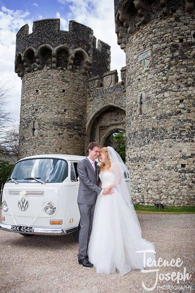 Castle wedding photos