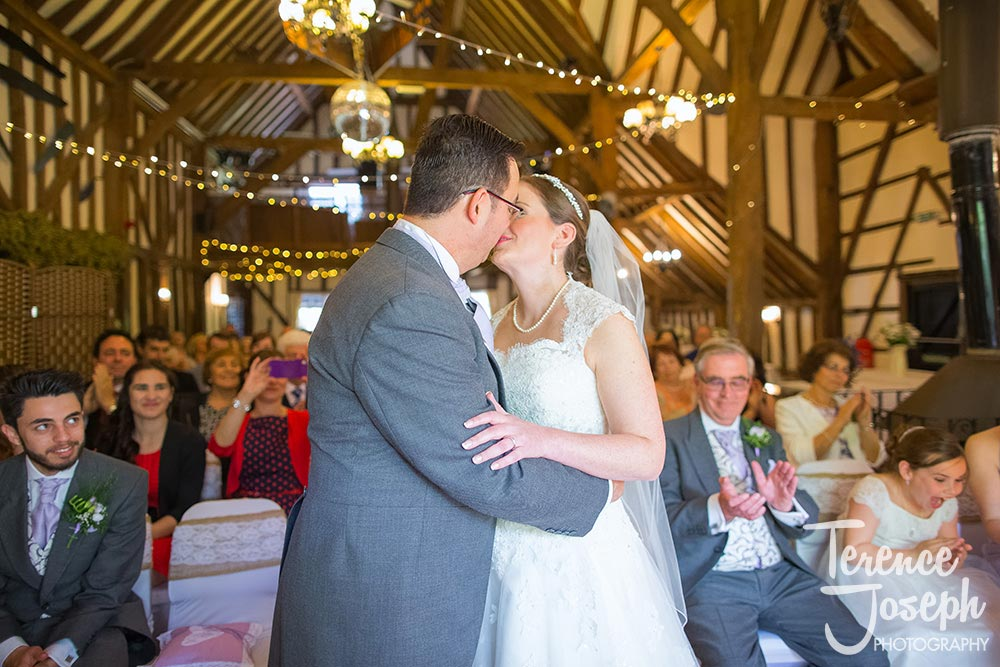 The Plough at Leigh Wedding photos by Terence Joseph Photography