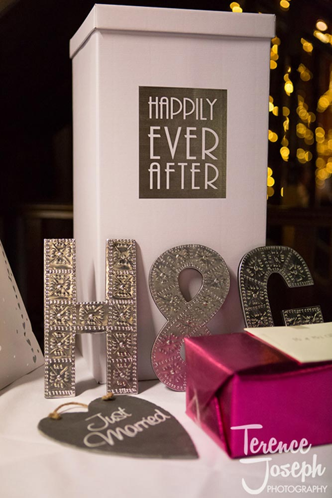 Wedding letter box