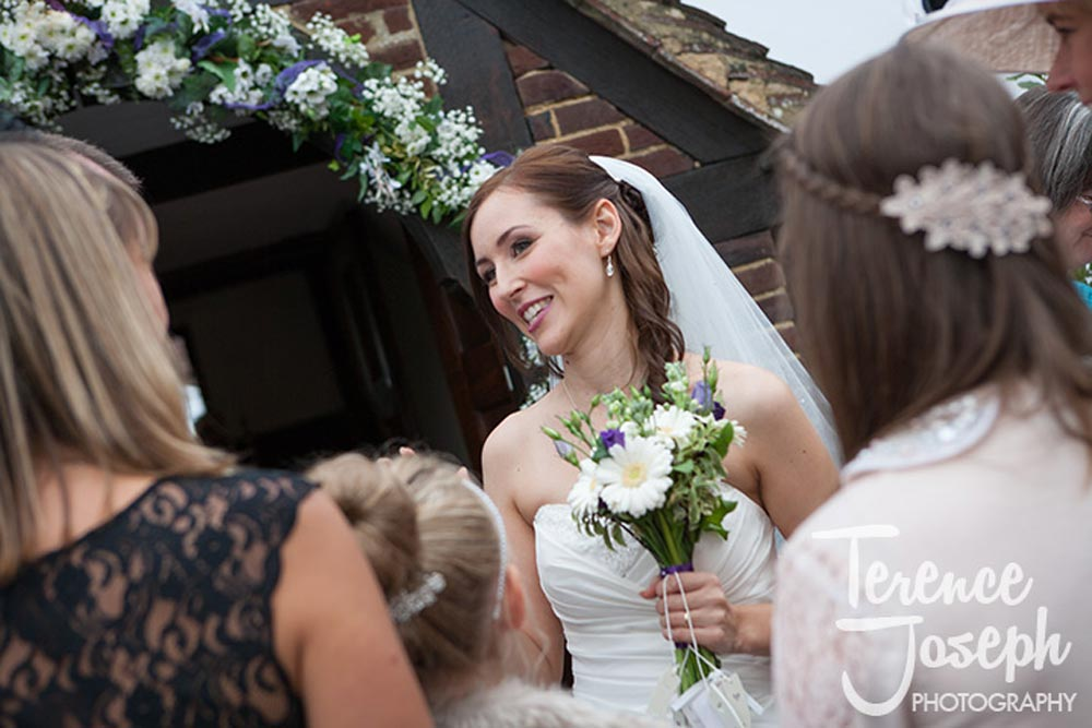 Beautiful married bride