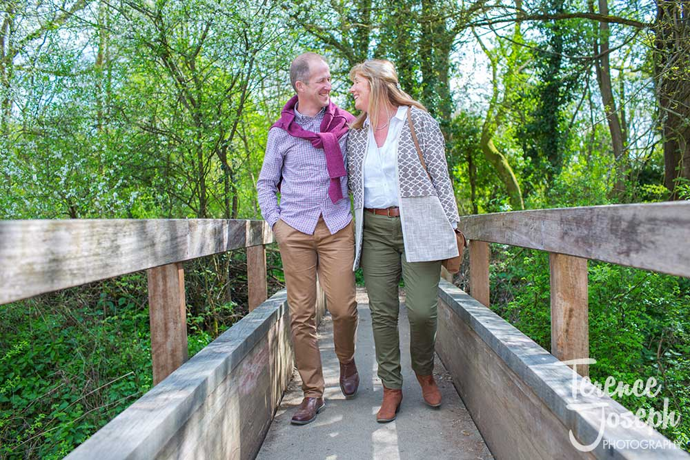 Sunshine Haysden country park engagement photos by Terence Joseph Photography