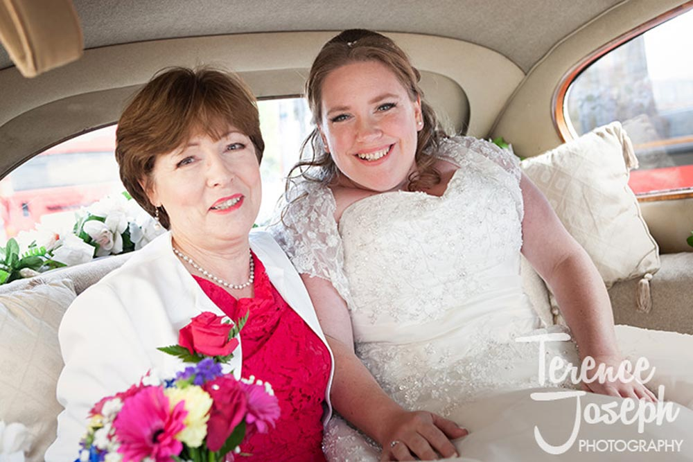 Bride and mum photos by Terence Joseph Photography