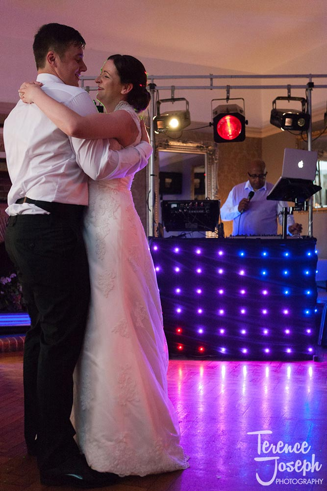 First dance at Wedding Reception The Cavendish Eastcote