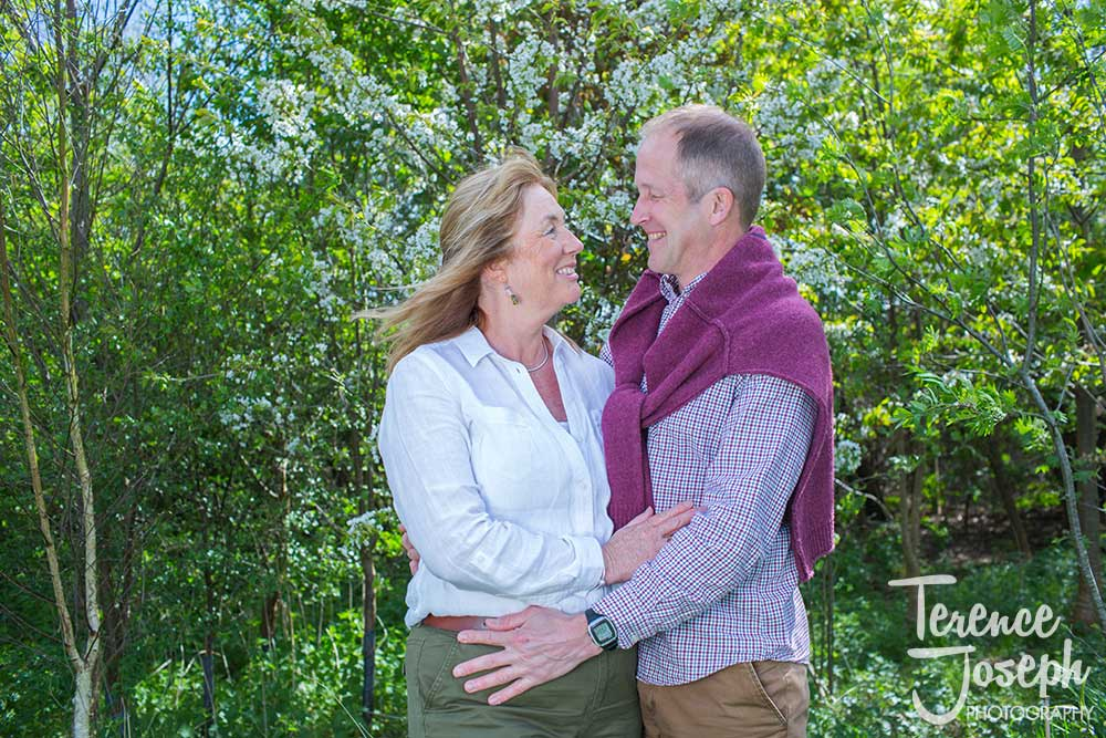 Engagement photo session Haysden country park