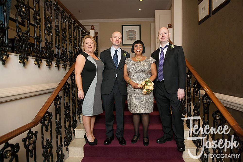 Family wedding at St James' Court Taj Hotel London