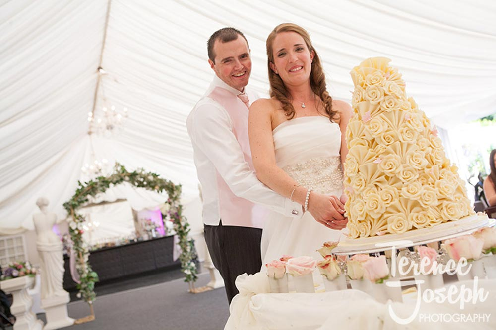 Trunkwell House Wedding Cake