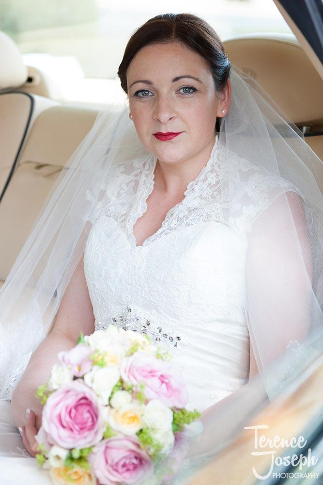 Elegant bride at The Cavendish Eastcote