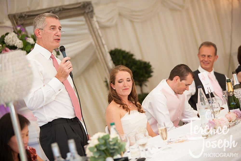 Trunkwell House Wedding Speeches