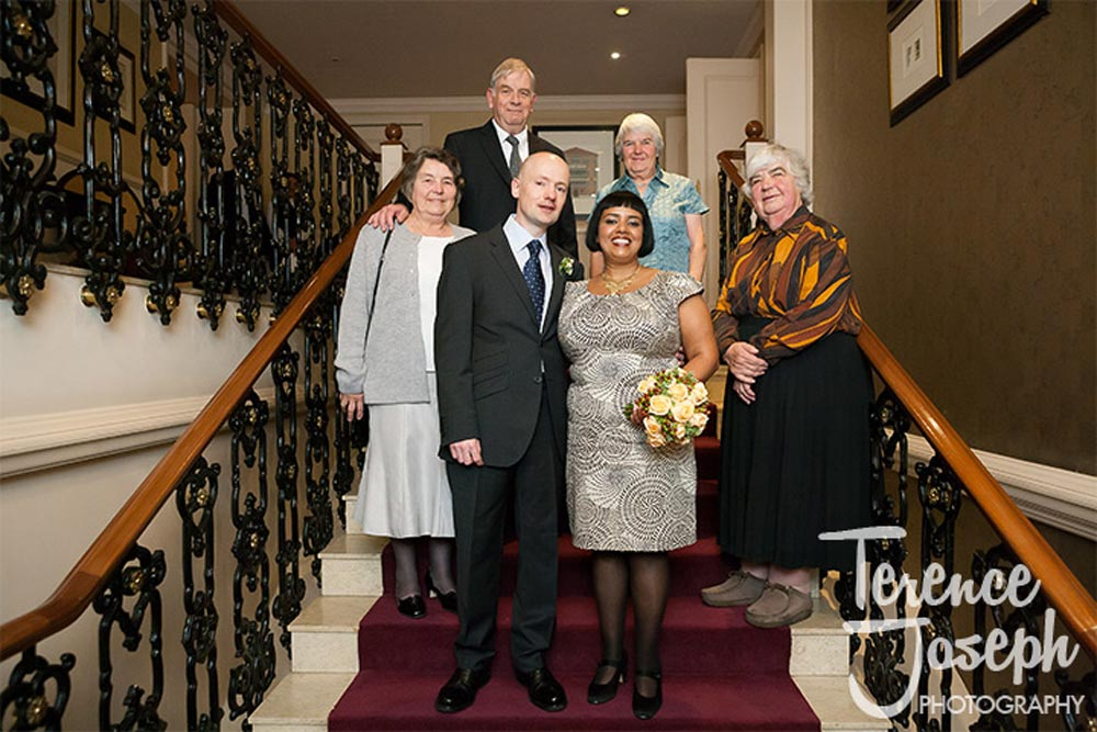 Extended family wedding at St James' Court Taj Hotel London