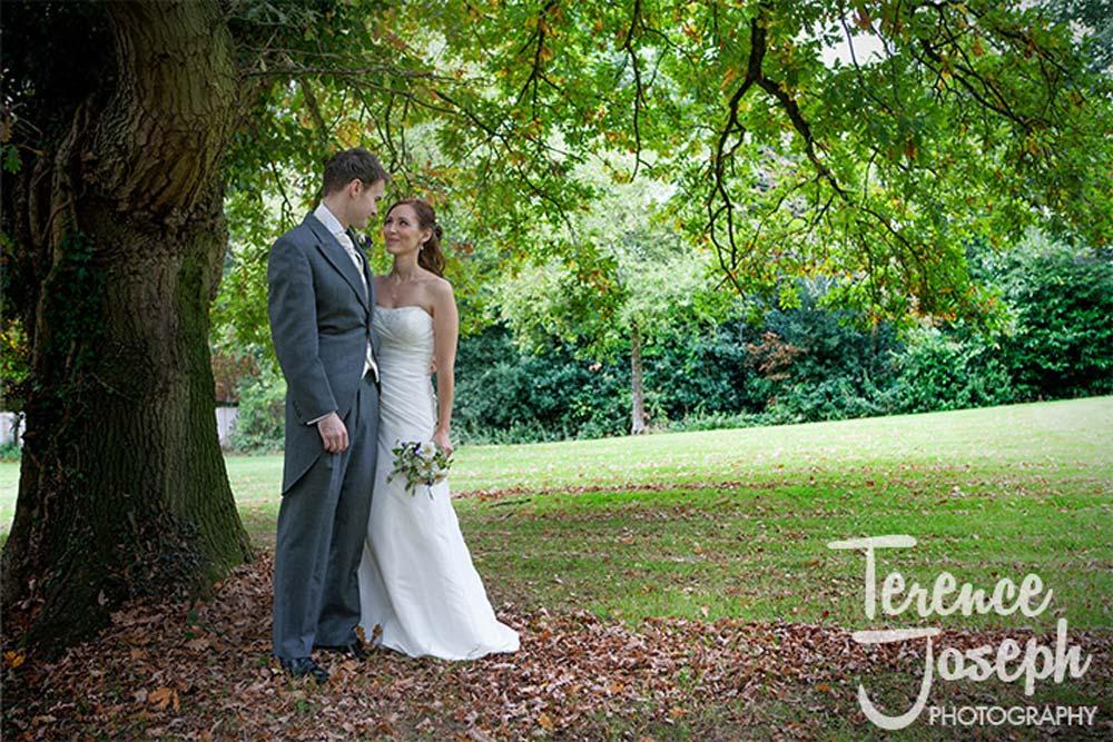 Beautiful wedding photos outdoors