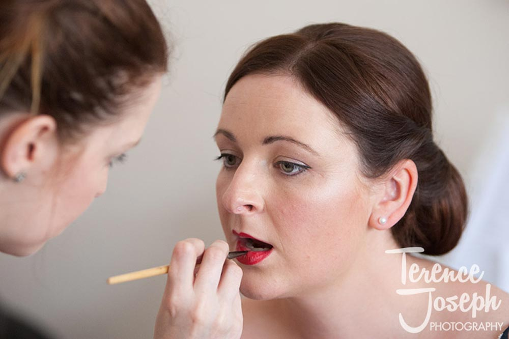 Bridal makeup in Watford