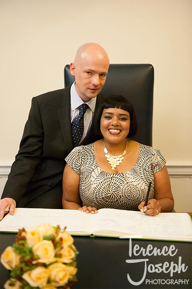 Morden wedding at The Old Marylebone Town Hall