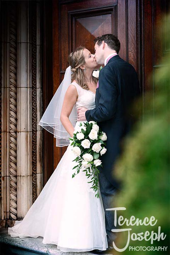 Natural wedding portraits at Dulwich College London