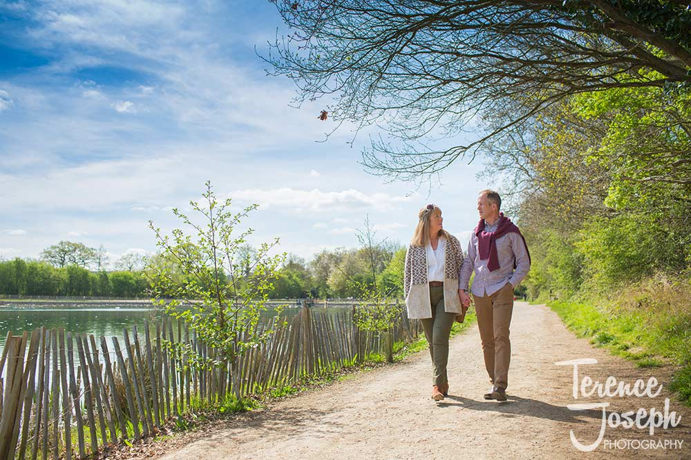 Haysden country park engagement photos by Terence Joseph Photography