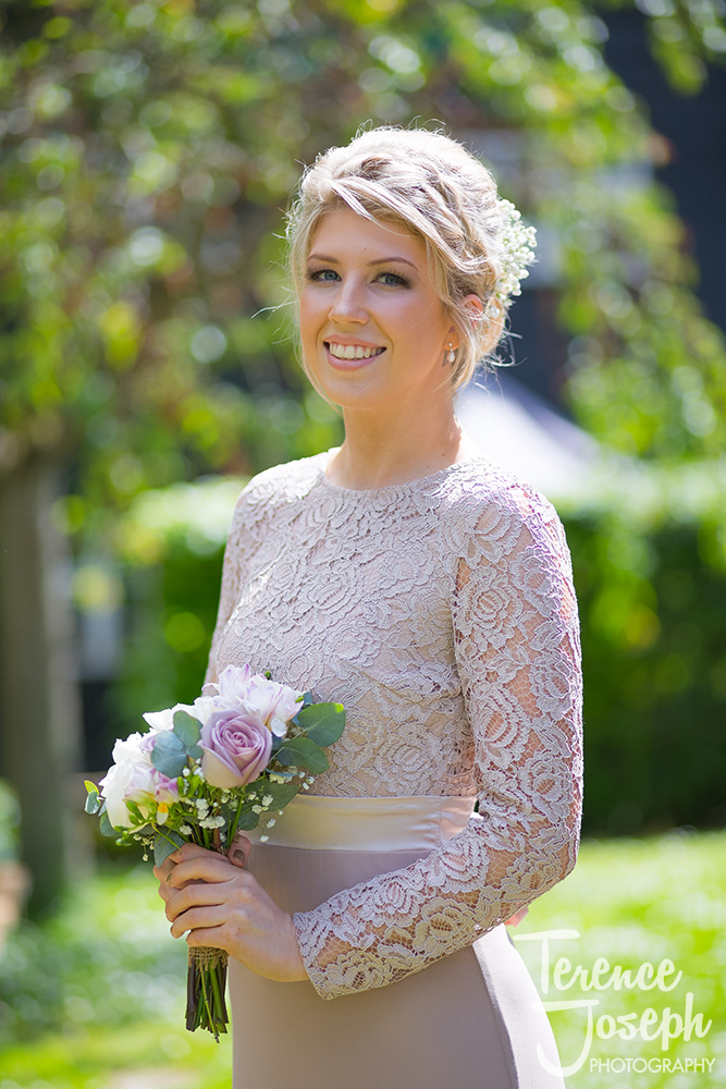Wedding Portraits at the Plough at Leigh