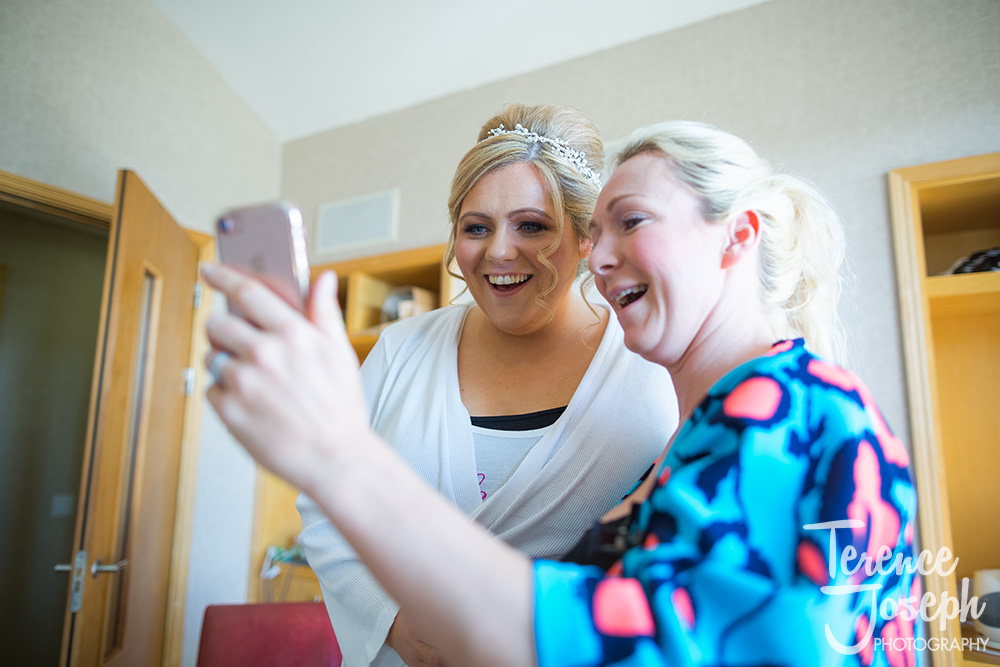 Bridal preparation Photos Lodge on Loch Lomond