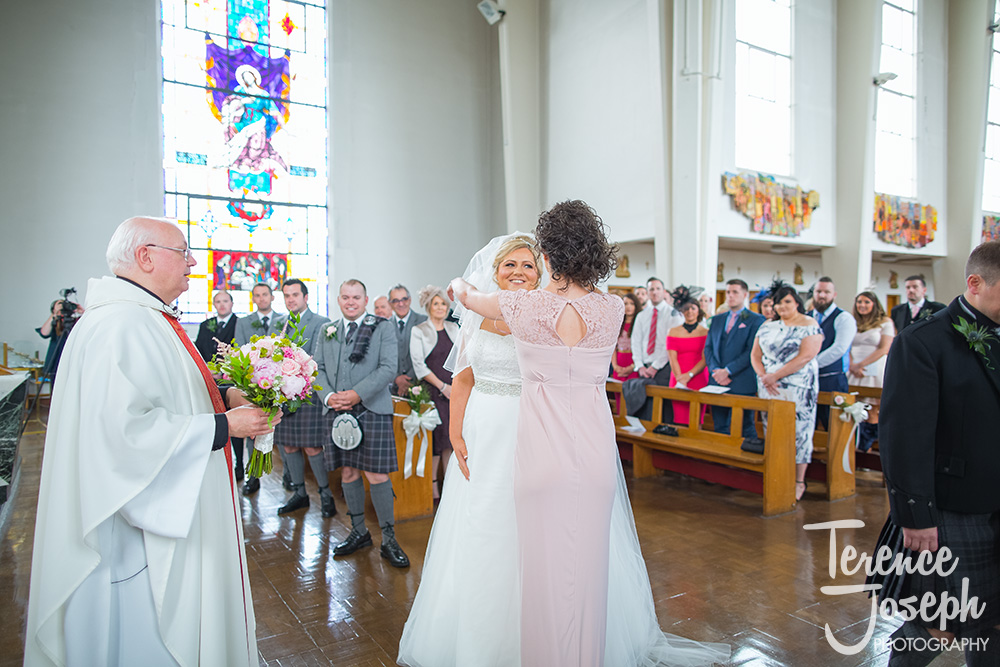 Scottish Wedding Ceremony Photos by Terence Joseph Photography