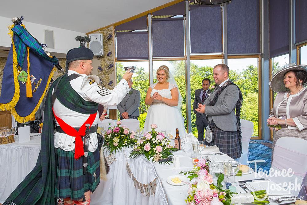 Lodge on Loch Lomond Wedding Breakfast Photos