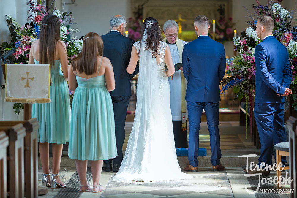 St John the Baptist Wedding