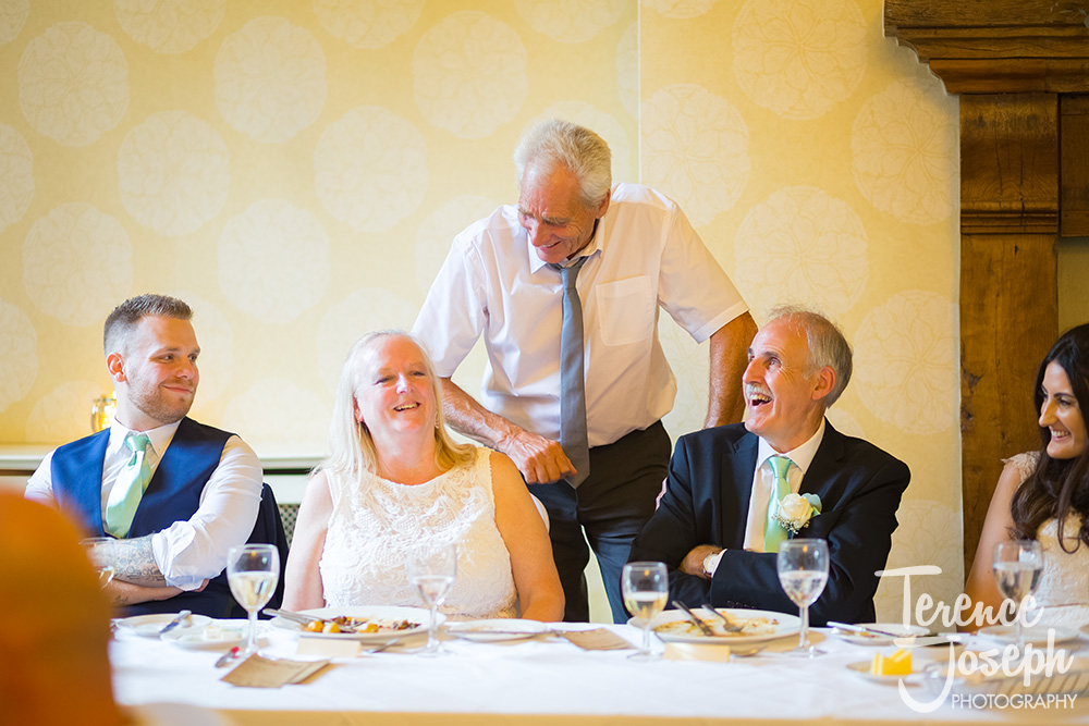 Hanbury Manor Ware Wedding Breakfast