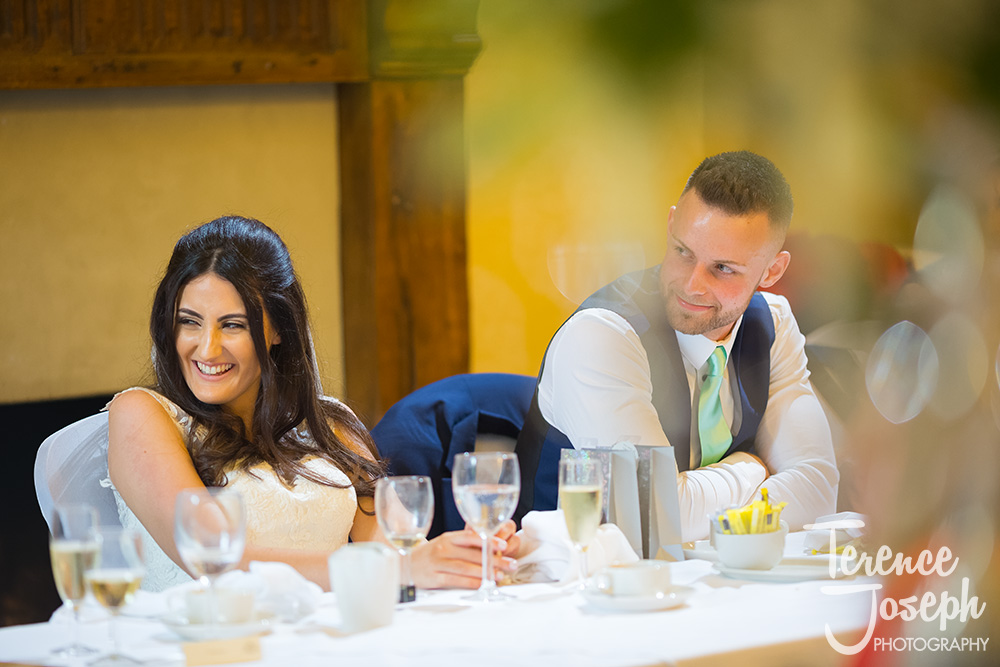 Hanbury Manor Ware Wedding speeches