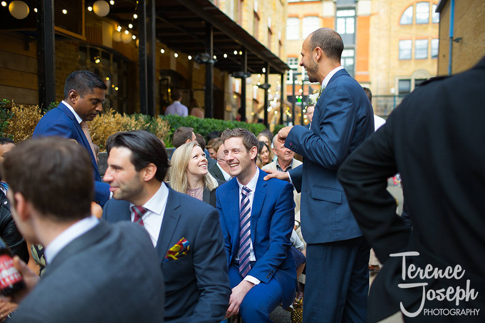 Bermondsey Yard Café Wedding