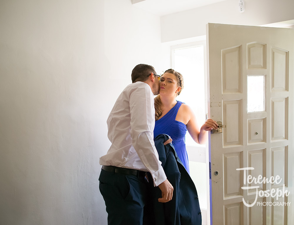 Bridal Prep Plough Inn Leigh Wedding Venue